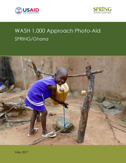 Cover of WASH 1,000 Photo Aid